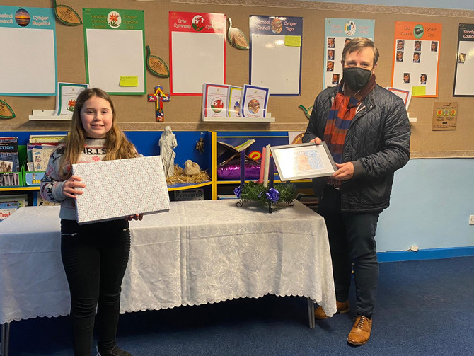 Local MP's annual Christmas card competition winners announced