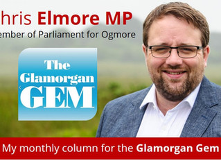 My Glamorgan Gem Column - January 2018