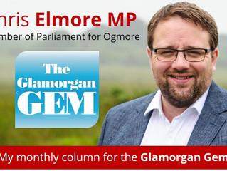 My Glamorgan Gem Column - January 2018