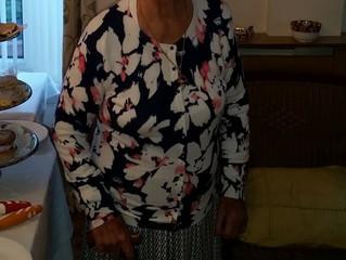 MP Congratulates Betti on Her 100th Birthday