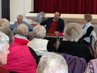 LocalMPCatches Up With Cefn Young At Heart Group