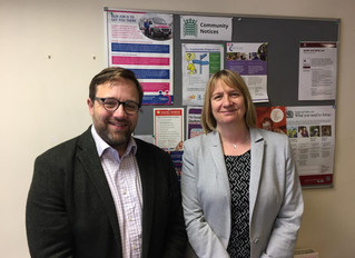 Pensioner poverty on the agenda for Ogmore MP's meeting with Older People's Commissioner