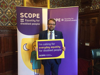 Chris Elmore Calls For Everyday Equality For Disabled People