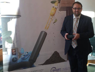 """Be Smart... Get a Smart Meter"", says Ogmore MP"
