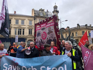 Elmore Joins March To Save Our Steel Industry