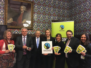 Chris Elmore Kicks Off Fairtrade Fortnight with Countdown Host