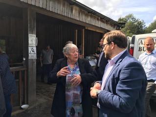 B-Leaf Scheme Rises High At Bryngarw Park