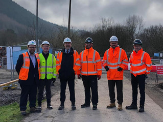 OgmoreMPand AM Check Out Welsh Water Valleys Investment