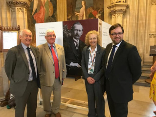 Elmore Opens Hartshorn Exhibition In Parliament