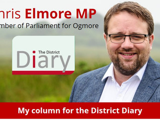 My District Diary Column - November 2017