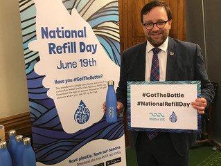 """Let's Turn The Tide On Plastic Pollution"", says Ogmore MP"
