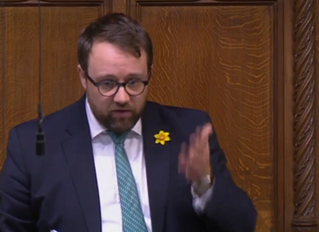 "Ogmore MP Criticises Tory ""Great Train Robbery"" In St. David's Day Debate"