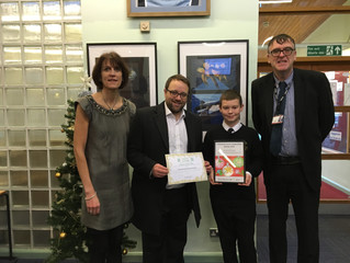Chris Elmore MP Congratulates Christmas Card Competition Winners