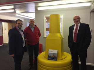 Local MP Checks In With Pontycymer Plastics Firm