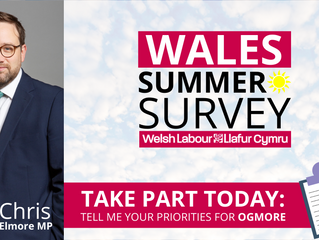 Local MP urges constituents to take part in summer survey as easing of lockdown continues