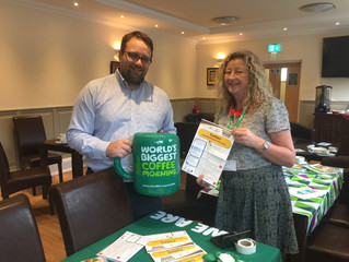 Chris Elmore MP Espressos His Support for MacMillan