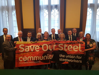 Ogmore MP reaffirms commitment to fight for steel industry