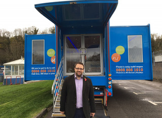 Ogmore MP Visits Mobile Cancer Care Unit