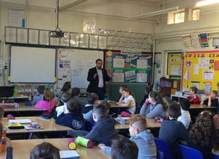 Youngsters Give Local MP a Grilling During UK Parliament Week