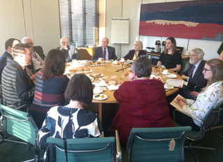 Local MP Hosts Cardiff Airport Event in Parliament