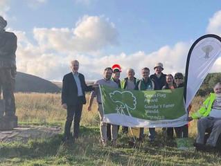'Cake and a Climb' to celebrate 'Spirit of Llynfi Woodland's' Community Green Flag Award