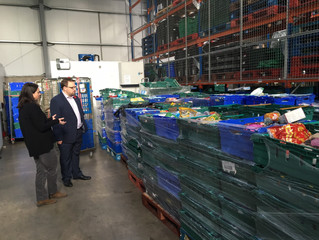 Ogmore MP Discusses Ways To Tackle Hunger and Food Waste