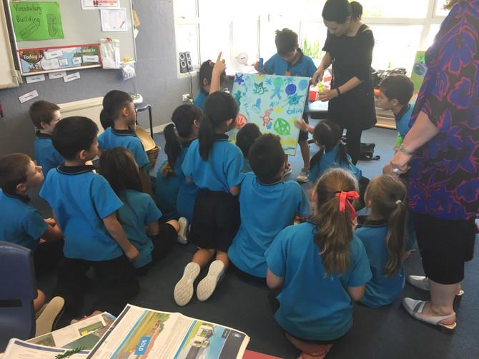 Art Workshop at UHP School in Auckland Dec. 2019