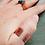 Thumbnail: Custom Monogram Copper Ring