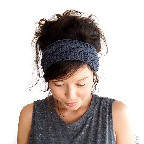 Knitted Head band-Braid