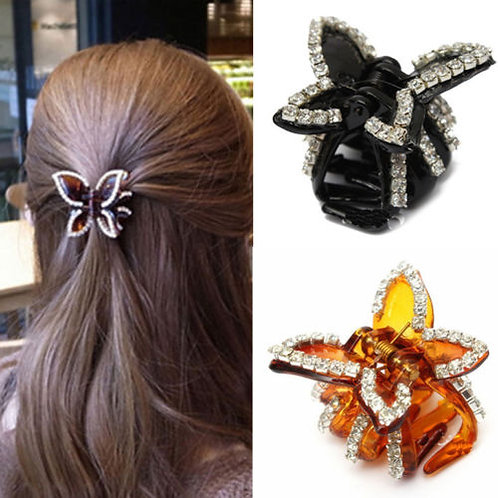 Butterfly Clip (Brown)