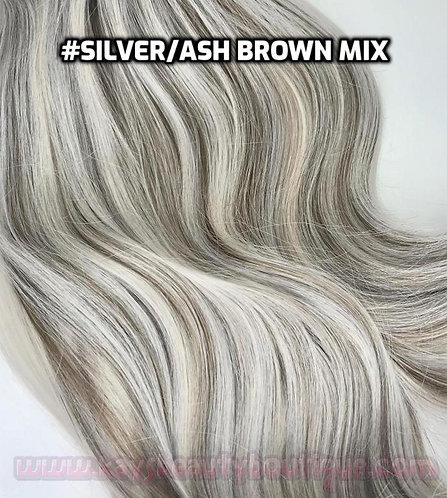 Flip-in(HALO) #Silver/Ash Brown Mix
