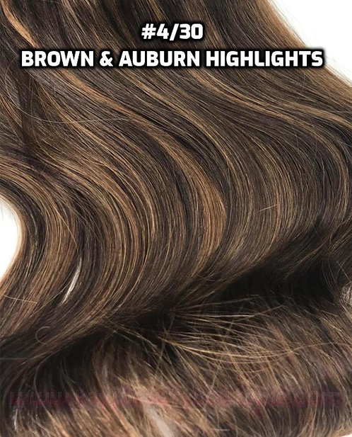Halo-wire #4/30-Brown & Auburn Highlights