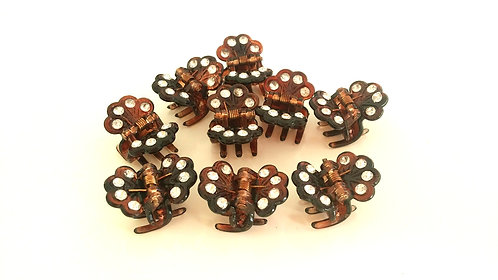 Small Plastic Hair clips(a pair)