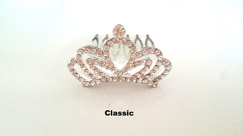 Small Tiara hair comb