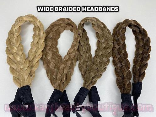 WIDE Braided Headbands II