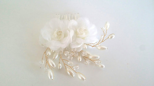 3D Flower Hair comb