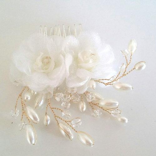 3D Flower Hair comb