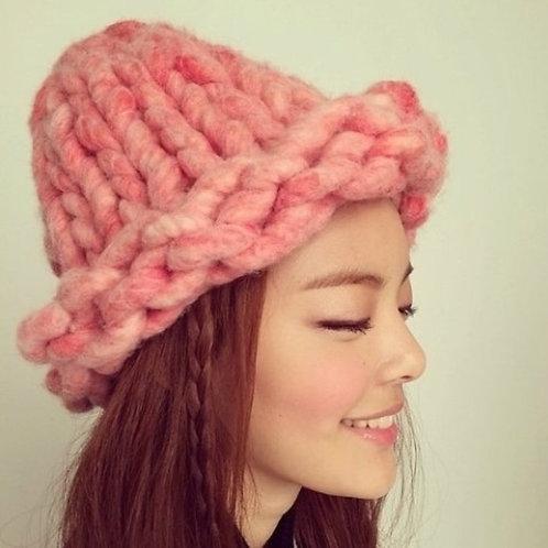 100% Merino Wool Hat- Super Chunky