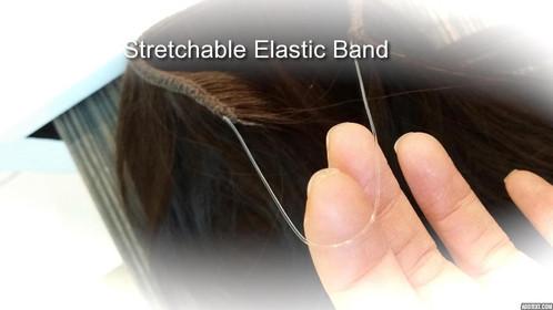 human hair band extensions
