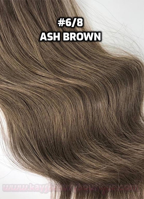 Clip-in #6/8- Light Ash Brown