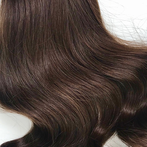 #4- Medium Brown Weft