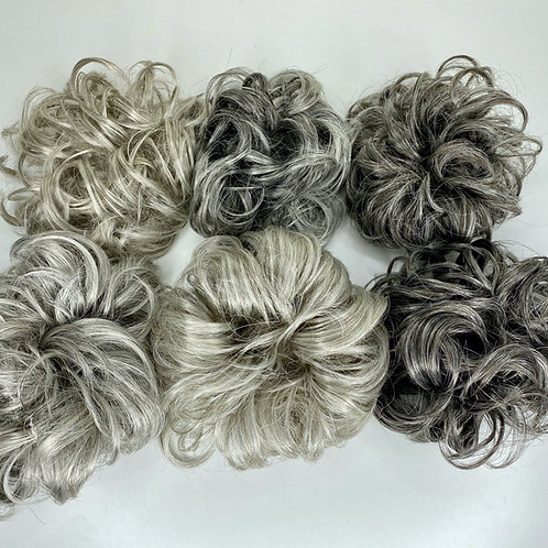 Gray Hair Scrunchie