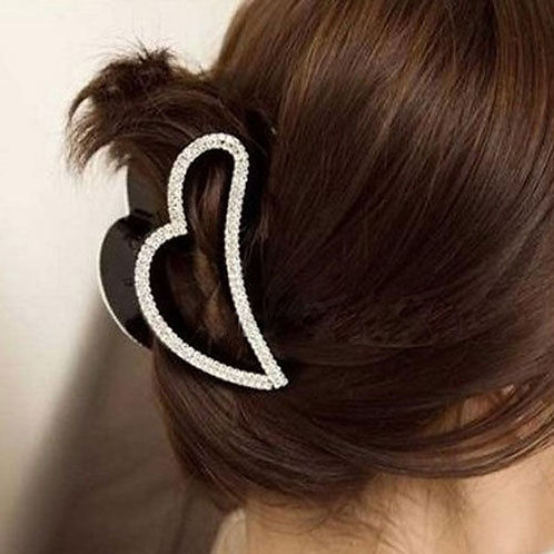 Heart Shaped Large Clip