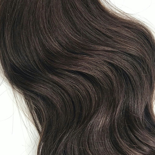 #2- Dark Brown Weft