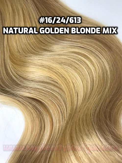 Flip-in(HALO) #16/24/613-Natural Blonde mix