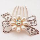 Pearl Bow Hair comb