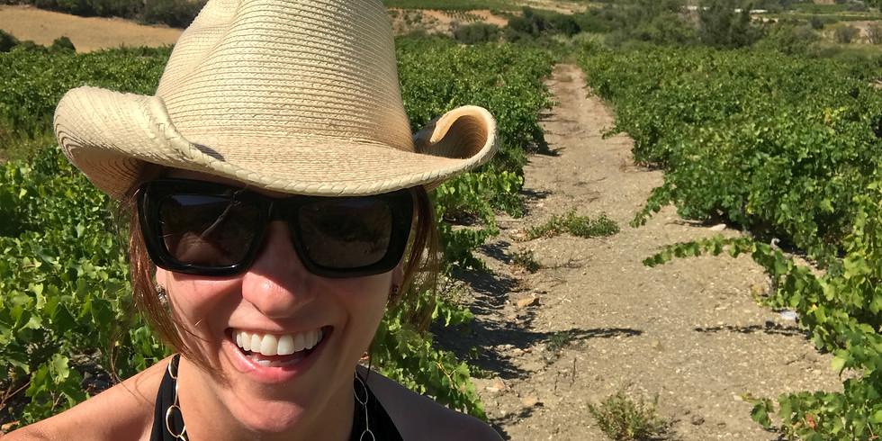 Kimberly Jones Selections Wine Tasting in the Garden