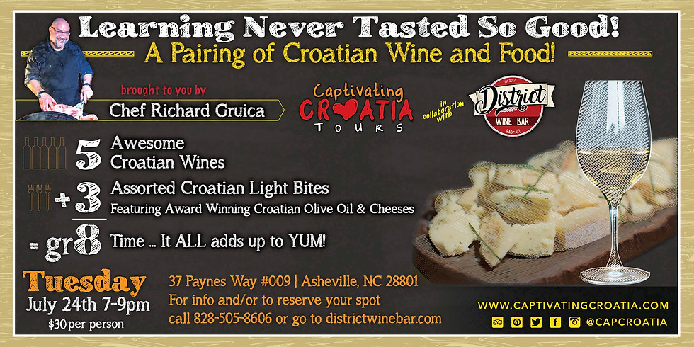 A Pairing of Croatian Wine and Food