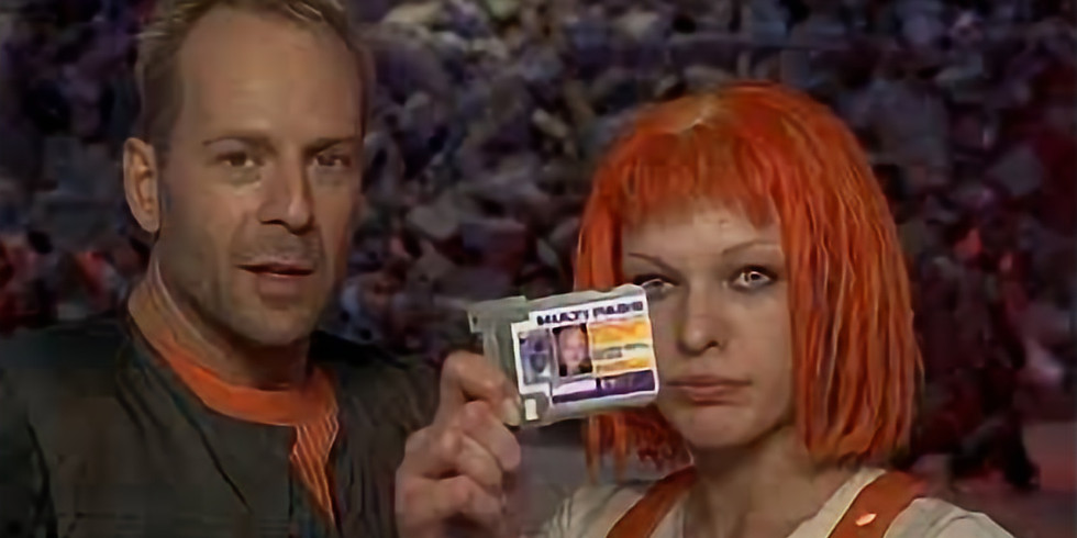 Monday Movie Night-The Fifth Element