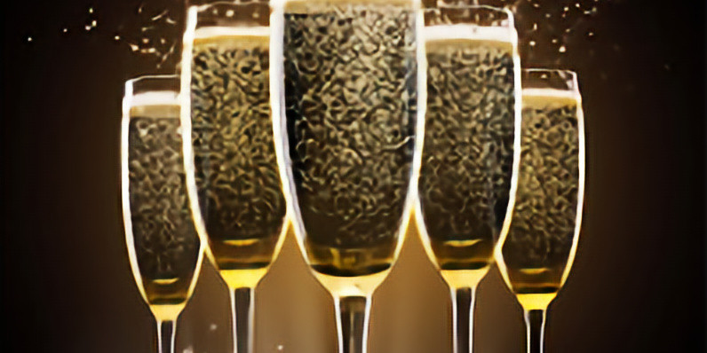 Holiday Luxury Champagne Tasting and Food Pairing